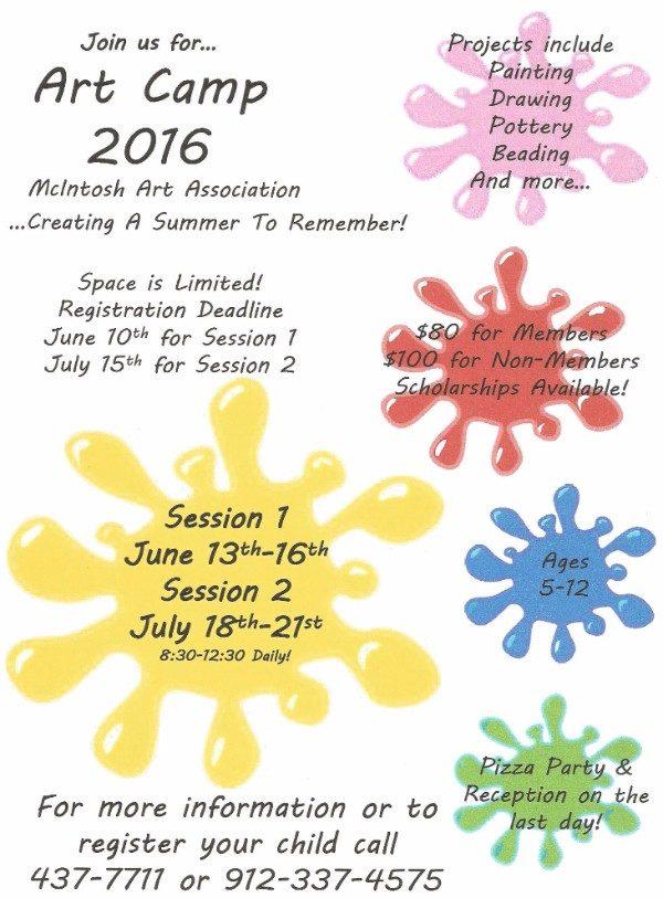 MAA Art Class for Kids 2016