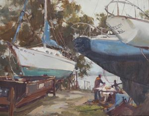 Mary O Smith Boat Yard