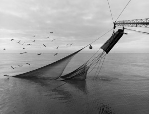 """Jack Leigh, """"Nets and Doors,"""" silver gelatin print, 1986"""