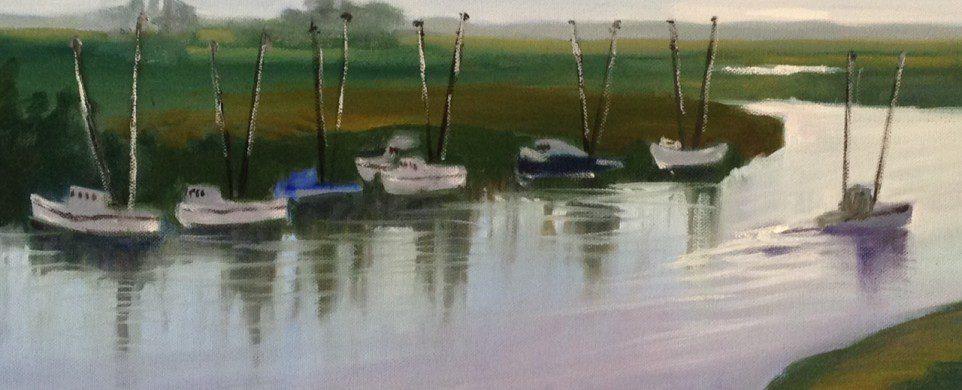 Spotlight Artist for January-Feburary Ethel Wilson and Statesboro Regional Art Association