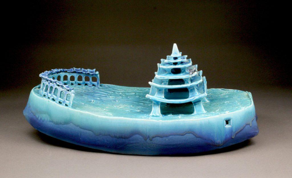 Alice Woodruff Pagoda Boat